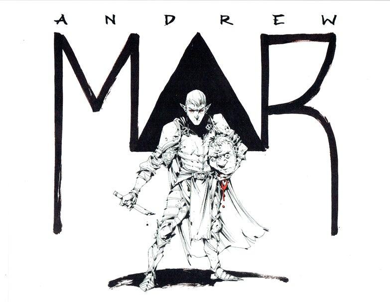 Logo de Andrew Mar.