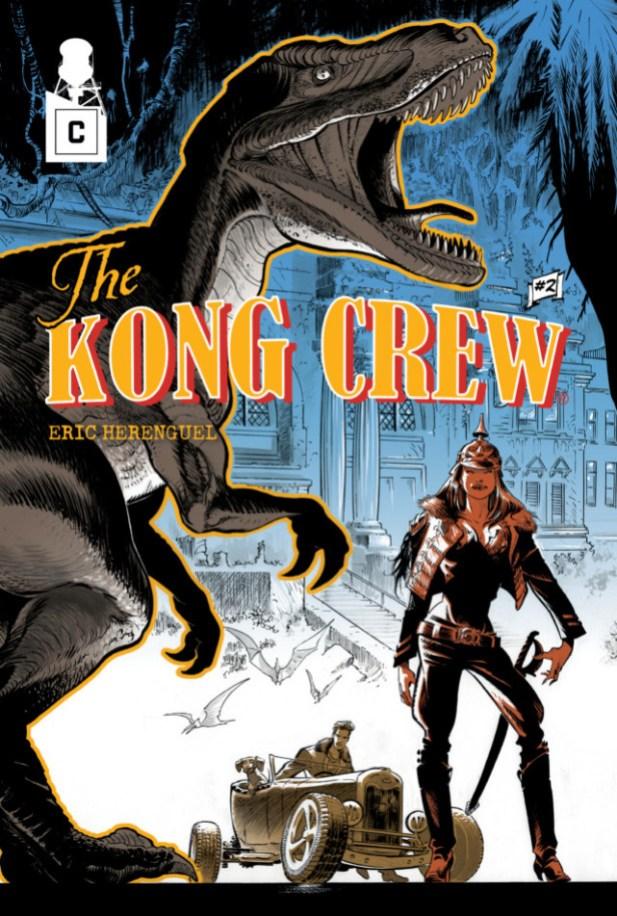 Couverture de The Kog Crew 2 d'Eric Herenguel.