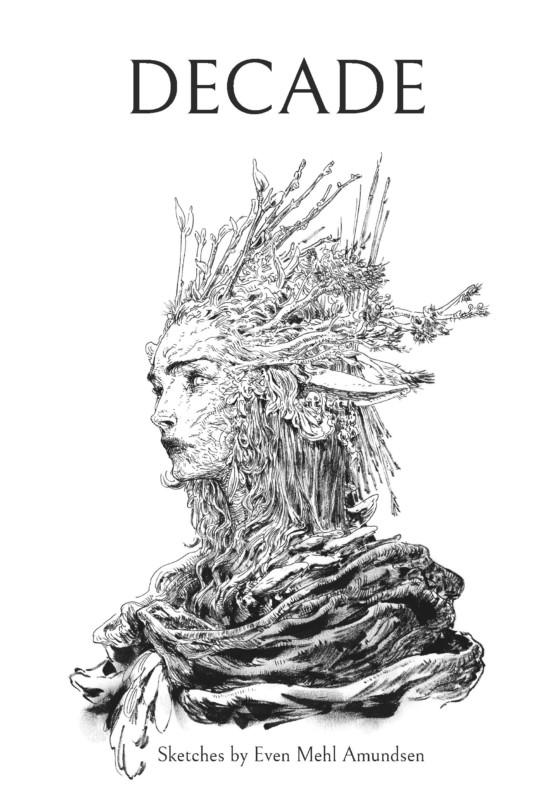 Couverture du sketchbook Decade d'Even Mehl Amundsen.