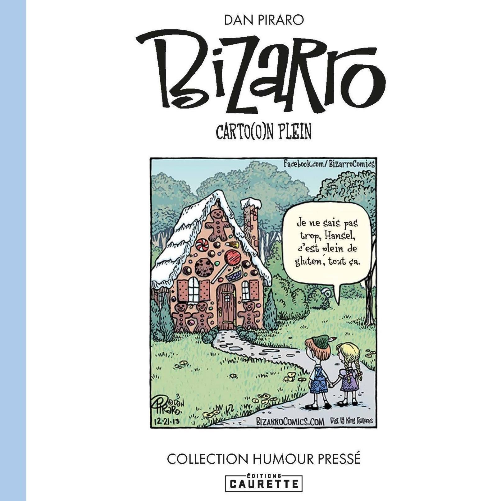 Couverture de la bd humoristique Bizarro Carton plein de Dan Piraro.