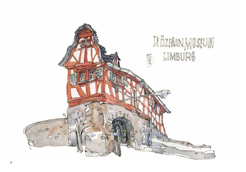 Dessin du Diozesan Museum de Limburg.