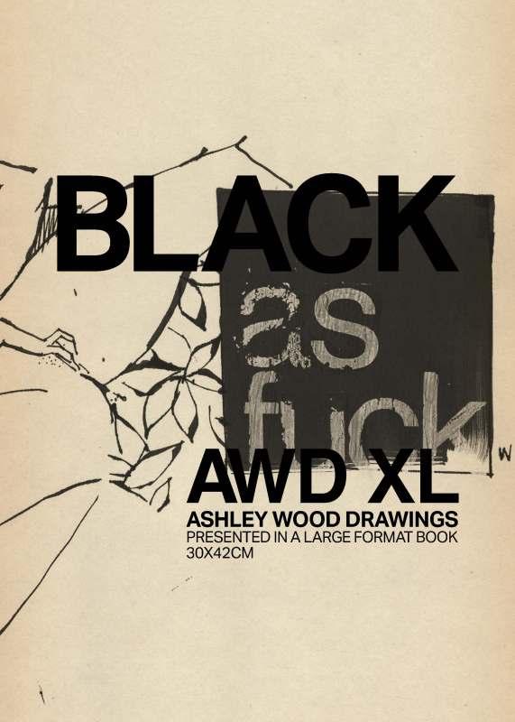 Artbook Ashley Wood - AWD XL BLACK. Black af.