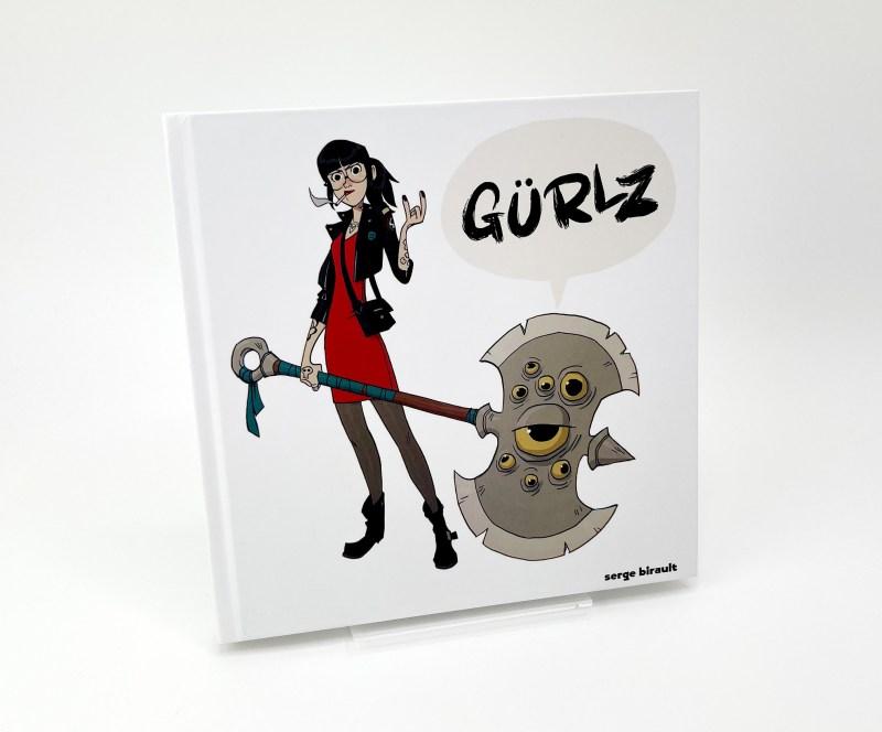 Gürlz, un artbook avec que des filles super cools (et armées).