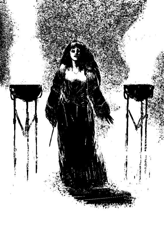 Apparition de Circé la magicienne.