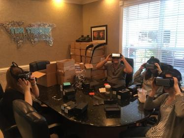 Cause Inspired Media Test VR headsets