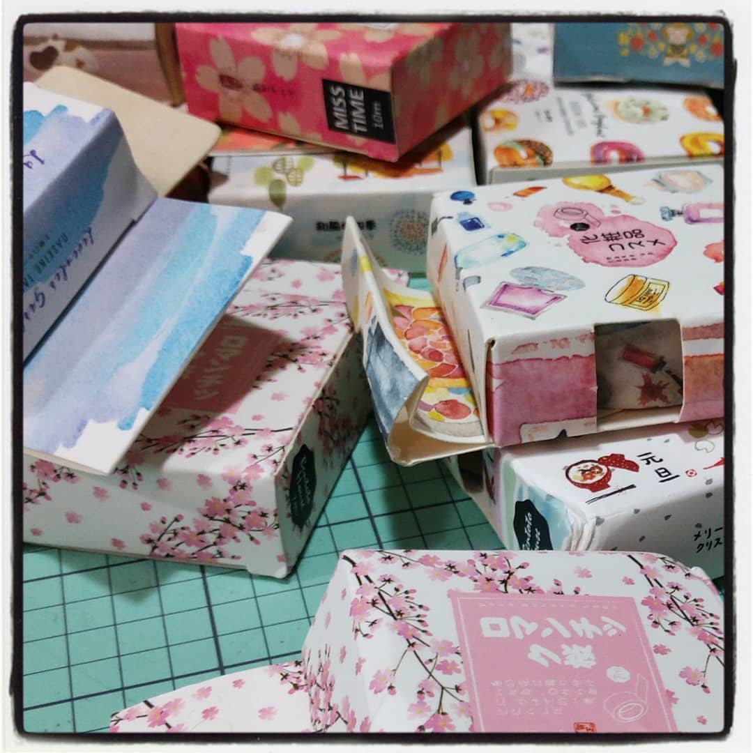 #washi tape heaven! More goodies on offer at the @chicagoplannerconference to benefit Chicago animal rescues and LE/Mil charities! Visit our booth for great deals and #cpc2018 exclusive edition items! #washitape #plannernerd #planneraddict #planner #bujo #bulletjournal
