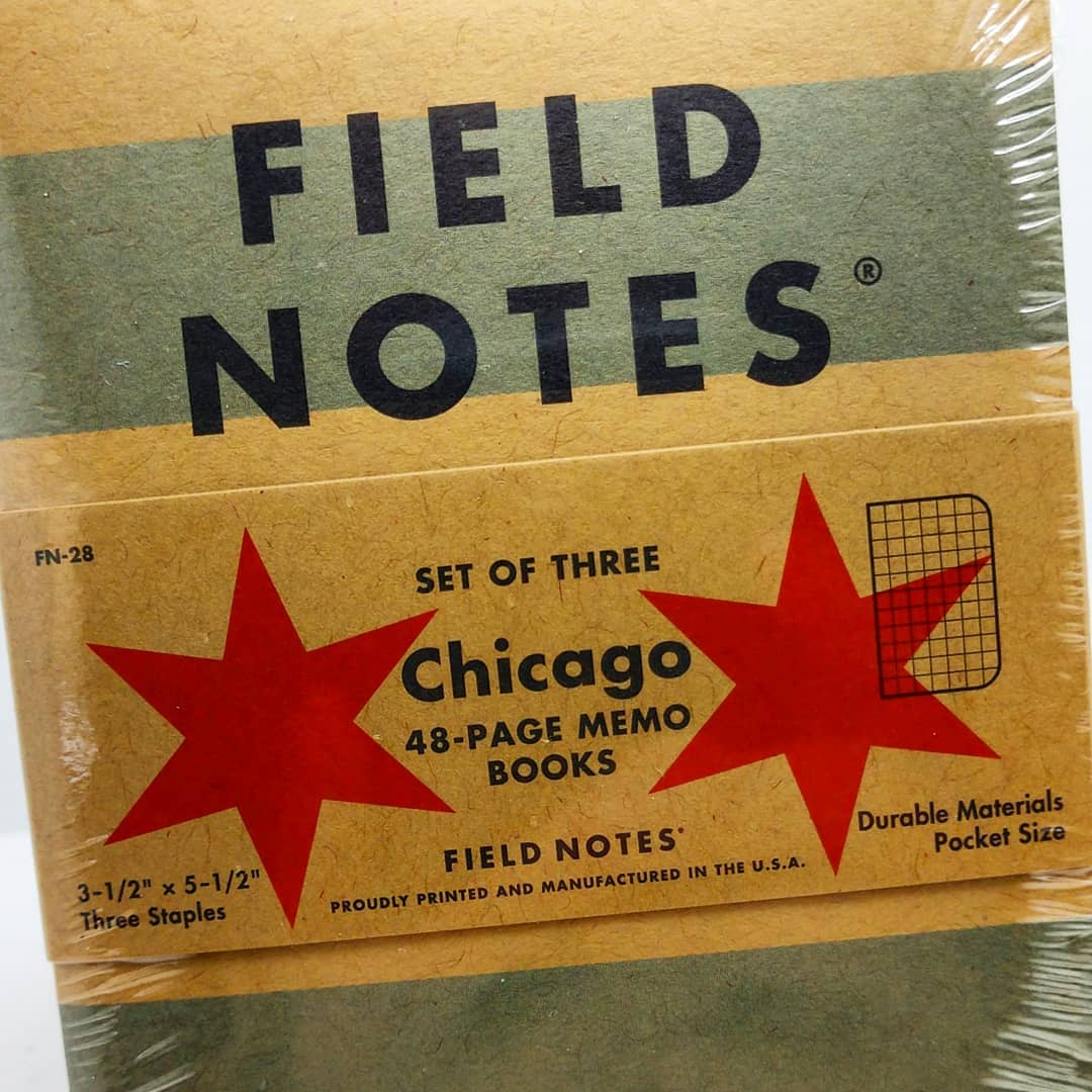 excited to be an authorized seller of Field Notes Brand and their awesome notebooks! use code CPC2018 for a big discount! pre-orders open now at https://causes.shalafoundation.org