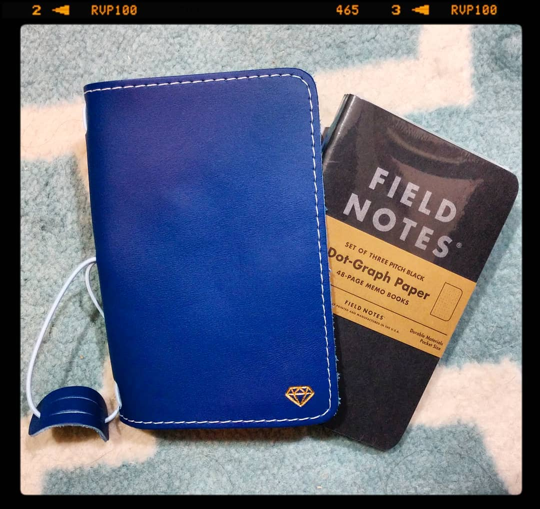 look at what goes perfectly in my new @thefoxyfix pocket sized cover! yaaasbitches! my @fieldnotesbrand dot grid notebooks 📔 😍 http://squareup.com/store/forgoodcause