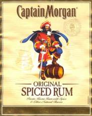 Captain Morgan and his rum