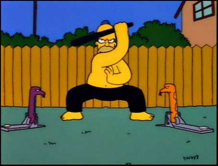 The Simpsons - Whacking Day