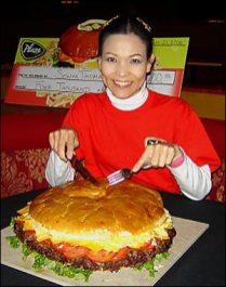 Sonya Thomas, Champion competitive eater