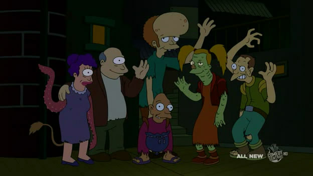 Futurama's Sewer Mutants -- yes, we forgot about these.