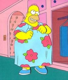 Home Simpsons Muumuu