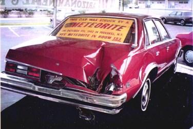 Peekskill Meteor Car