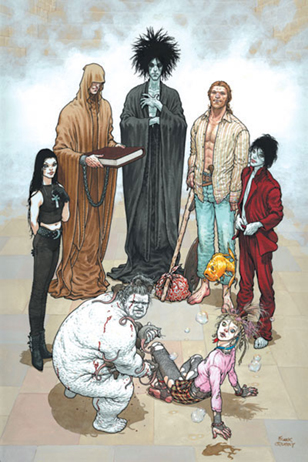 The Sandman - Endless Nights Poster by Frank Quitely