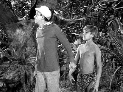 Gilligan and Jungle Boy (Kurt Russell)