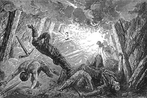 firedamp mining explosion