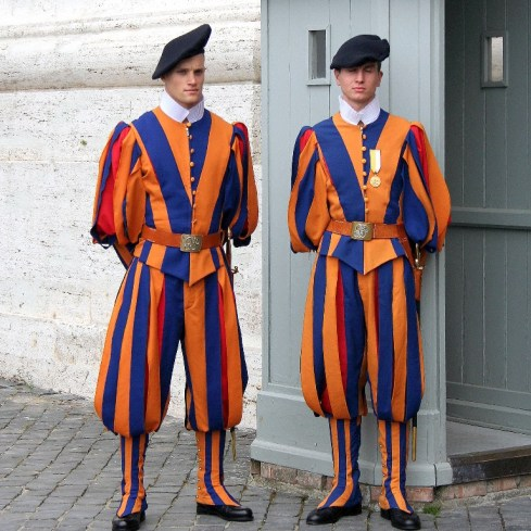 papal police vatican swiss guard
