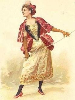 la maupin Julie d'Aubigny duels