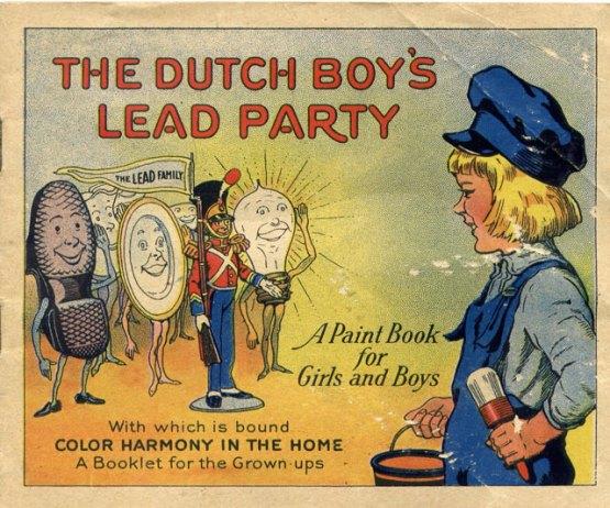 Dutch Boys Lead Party 1923