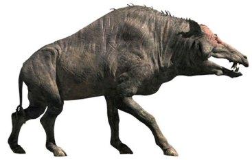 entelodont hell pig terminator megafauna