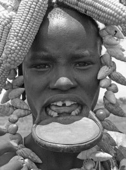 Lip Plug African 37