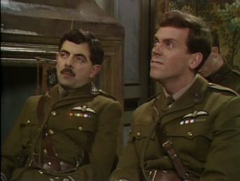 Blackadder Goes Forth trench warfare