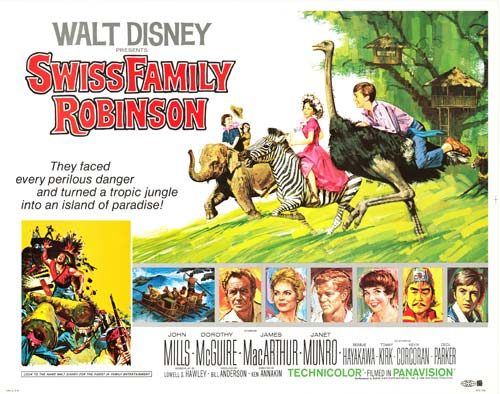 Swiss Family Robinson marooned