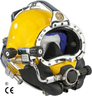 Kirby Morgan 37 Diving Helmet