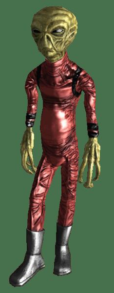 Fallout - Alien Worker