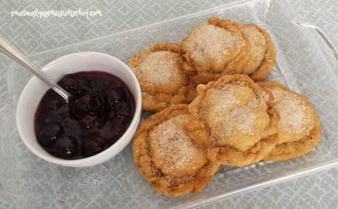 Fried Fresh Cherry Hand Pies recipe. Great way to use up all those ripe cherries! cautiouslyoptimistickitchen.com