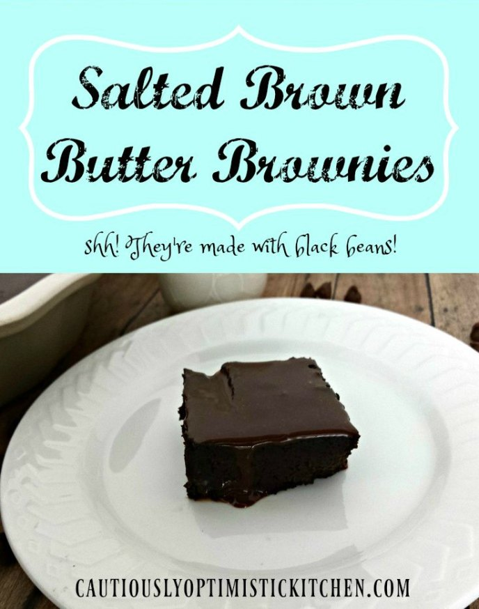 Salted Brown Butter Brownies