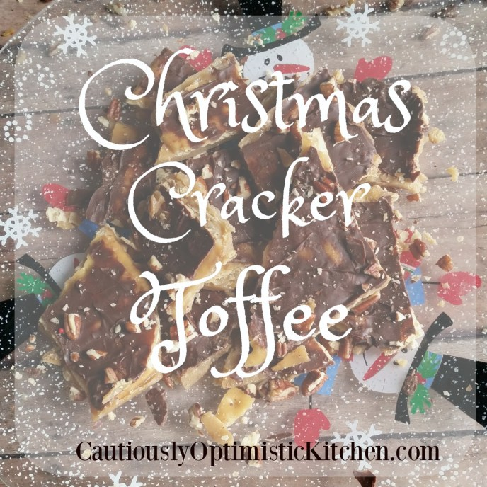 Christmas Cracker Toffee