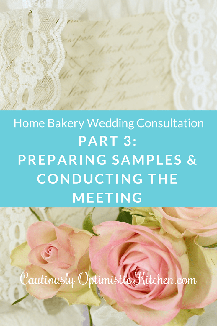 Part three looks at how to conduct the meeting and prepare samples.