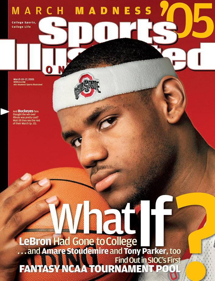 LeBron James Sports Illustrated Covers From Then To Now