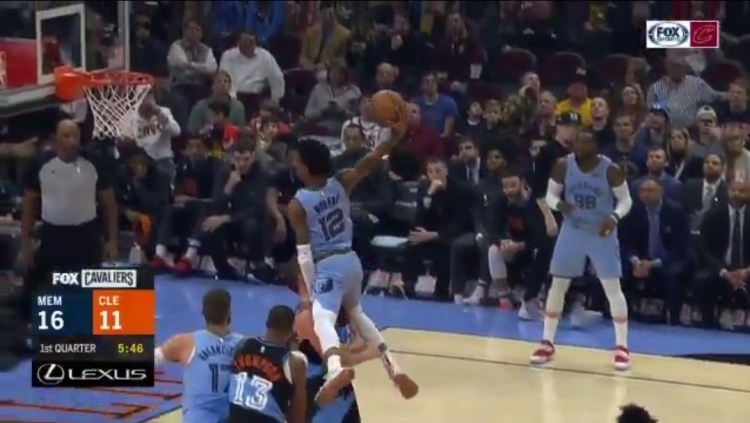 Kevin Love Says Ja Morant Dunk Attempt 'Almost Ended My ...
