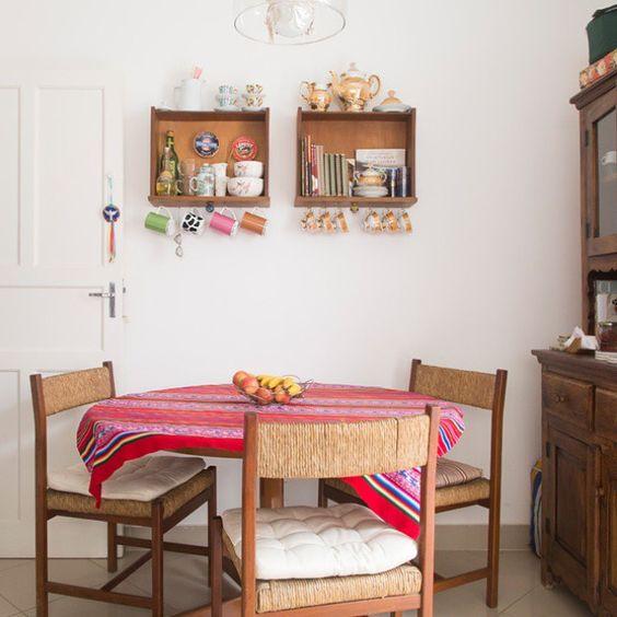Utilize gavetas para fazer nichos e decorar sua casa