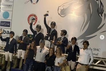 Pódio da Copa Ouro foi formado inteiramente pela criação nacional, com Sindiva Joter na ponta
