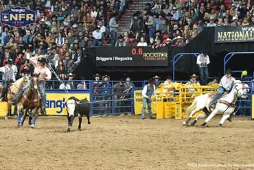 Junior Nogueira vence rodada 8 da NFR em Las Vegas