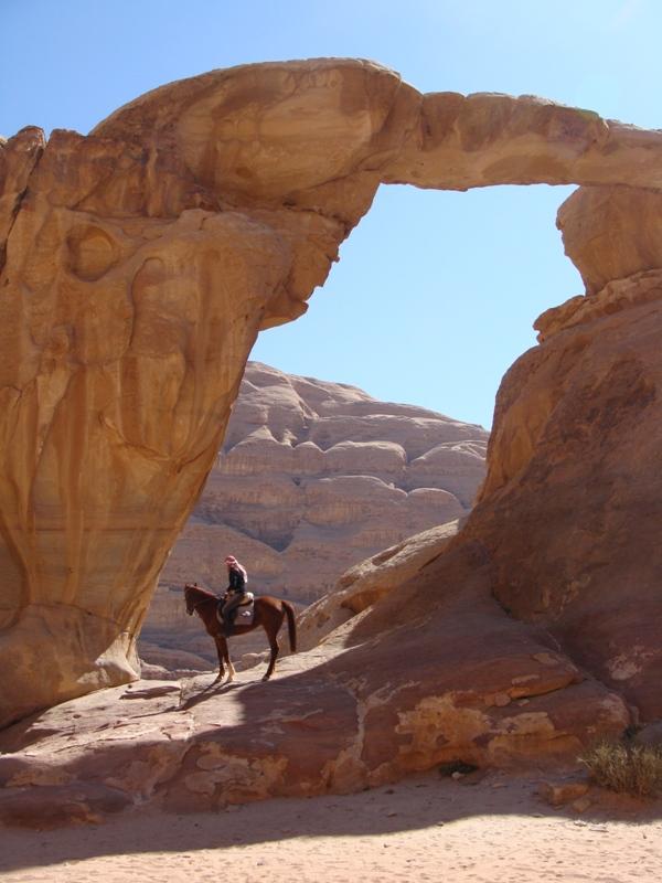 Cavalgada reúne três grandes destinos na Jordânia