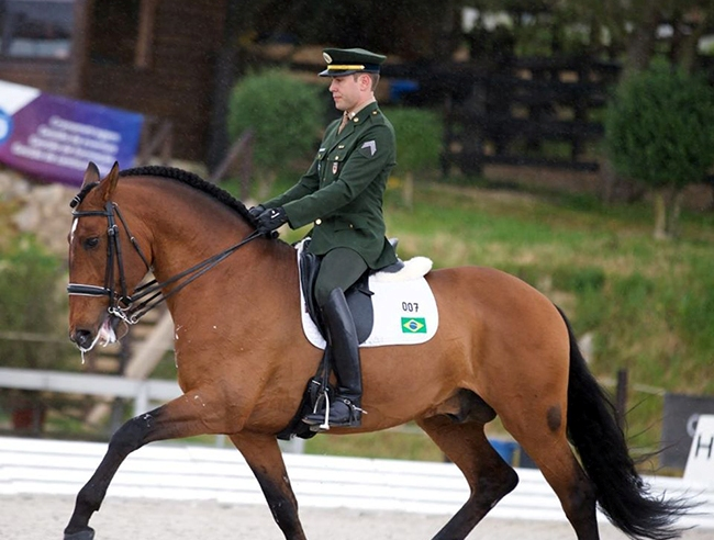 João Victor Oliva conquista segundo índice olímpico no Adestramento
