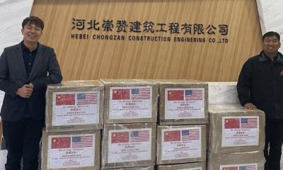 Em nome da APHA, chineses doam suprimentos para hospitais do Texas