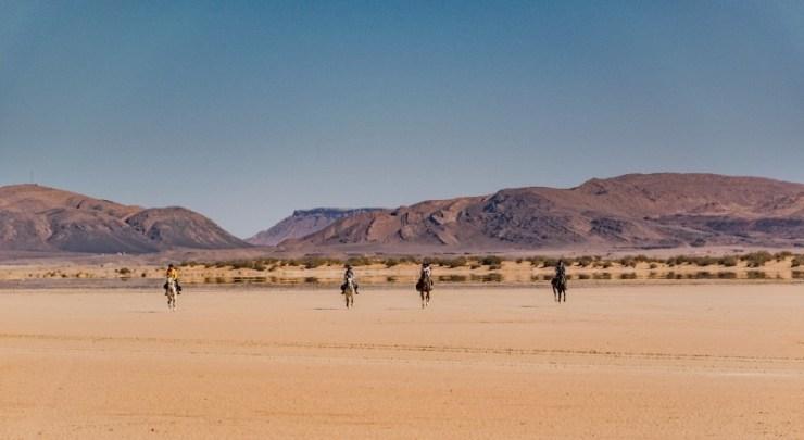 Cavalgadas em meio ao infinito branco da areia do deserto Paulo Junqueira conta em sua coluna da semana como cavalgar no desertor pode ser uma descoberta fantástica