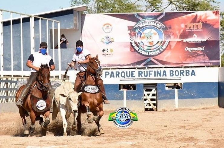Parque Rufina Borba puxa fila de Vaquejadas liberadas. As provas de vaquejada no estado de Pernambuco estão liberadas, assim como em RN e AL