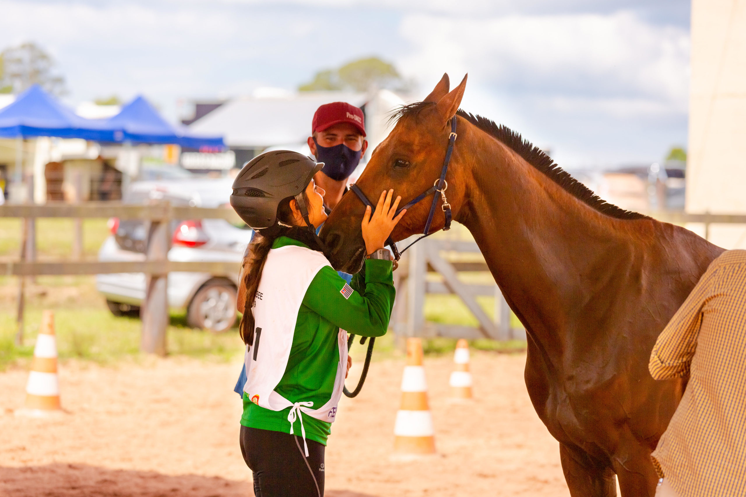 Cavalo Árabe garante vaga na seletiva do Pan-Americano de Enduro 2021