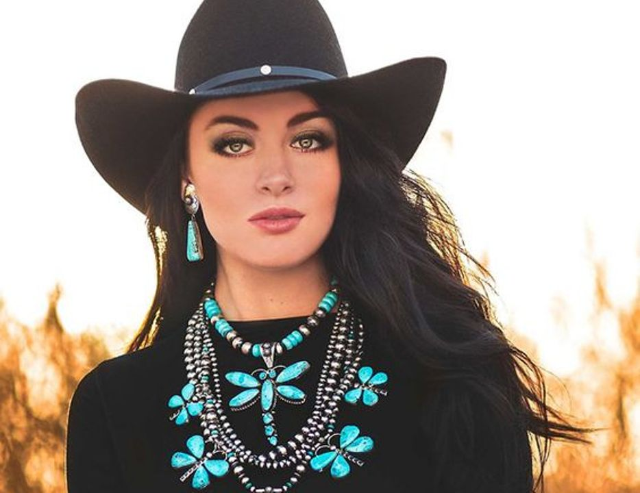 Turquesa é a cor preferida das cowgirls