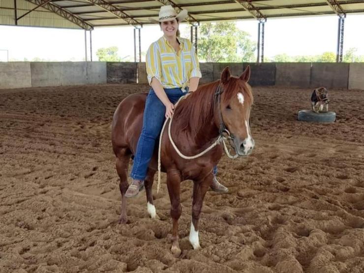 Mariana Vanni Azevedo ,competidora e proprietária de cavalos da modalidade, está entre os destaques da temporada 2019/2020 da ANCA