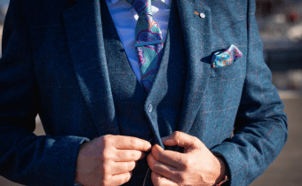 A Fashionable Tweed suit