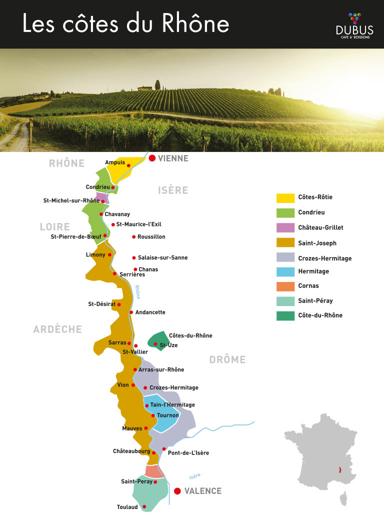 Côtes du Rhônes Septentrionales