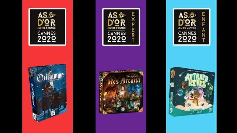 As d'Or 2020 : Res Arcana, Oriflamme et Attrape-Rêves